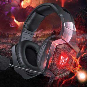 Casti Gaming Onikuma K8 Bass Vibration