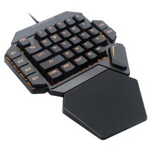 2 Tastatura One Hand Mecanica RGB RoPlayer K50