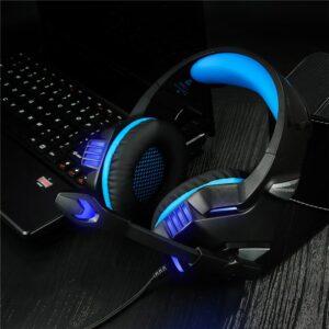 8 Casti Gaming HunterSpider V3 Pro Blue