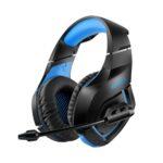Casti Gaming Onikuma K18 Blue